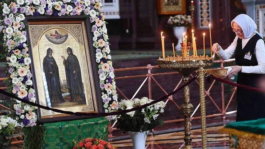 Заработала «горячая линия» для паломников к мощам святых Петра и Февронии