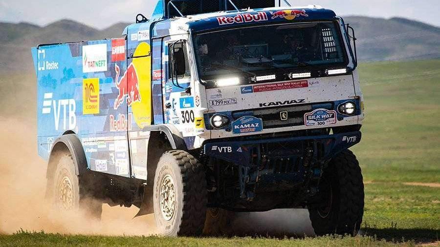 «КамАЗ-мастер» выиграл ралли «Шелковый путь» в зачете грузовиков