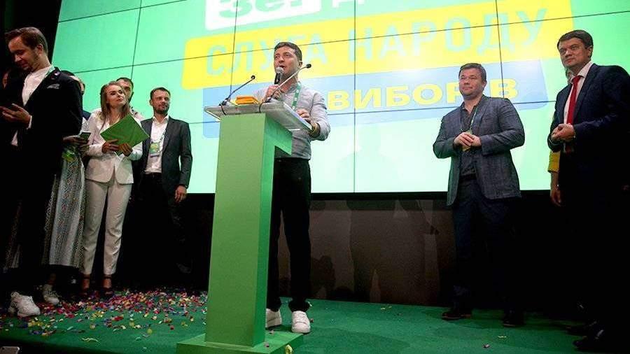 Пушков оценил лидерство «Слуги народа» на выборах в раду