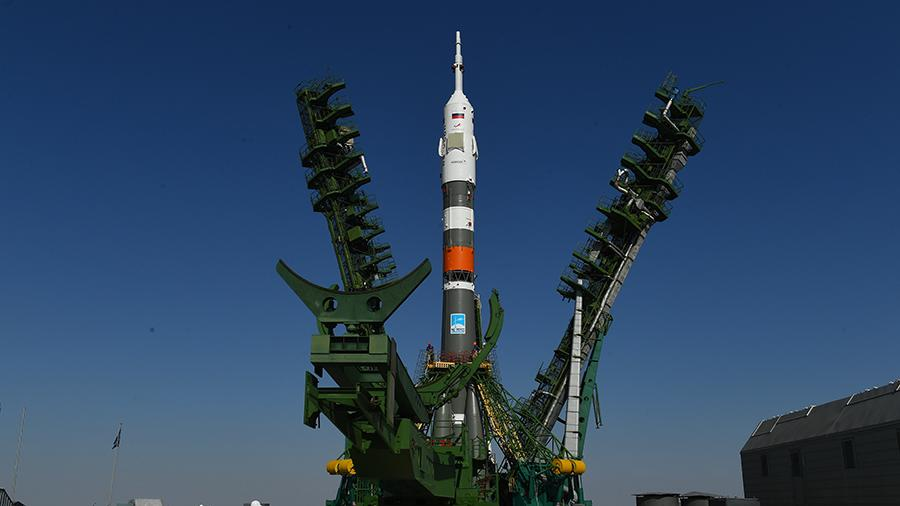 Ракета-носитель «Союз-2.1а» с роботом «Федором» стартовала с Байконура
