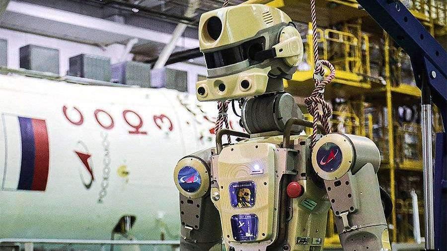 Робот «Федор» проведет 17 дней на МКС без подзарядки