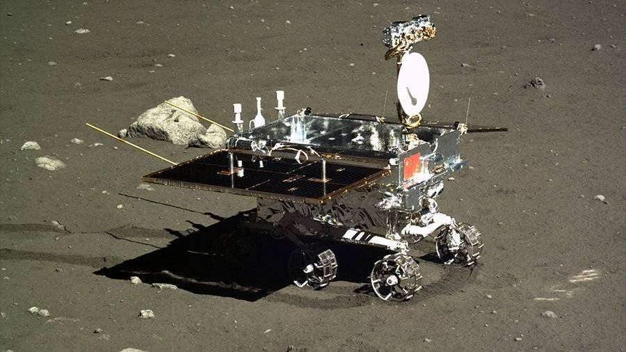 Китайский луноход проехал 271 м по обратной стороне Луны