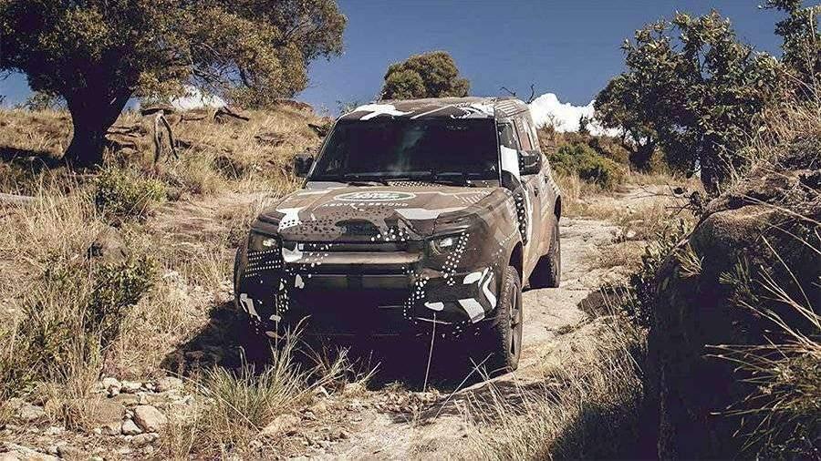 Land Rover испытал новый Defender в пустыне   Новости