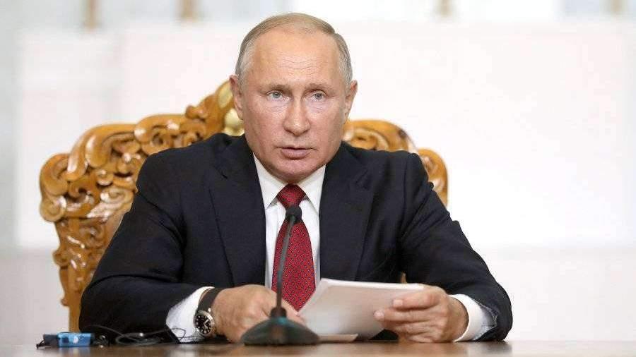 Путин назвал распространение рака вызовом для всего человечества