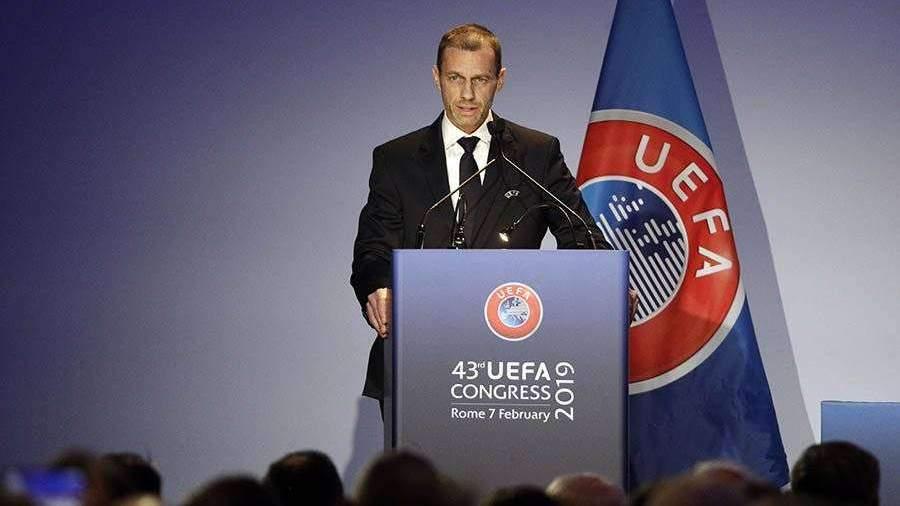 УЕФА назвал причины разведения России и Украины по разным группам