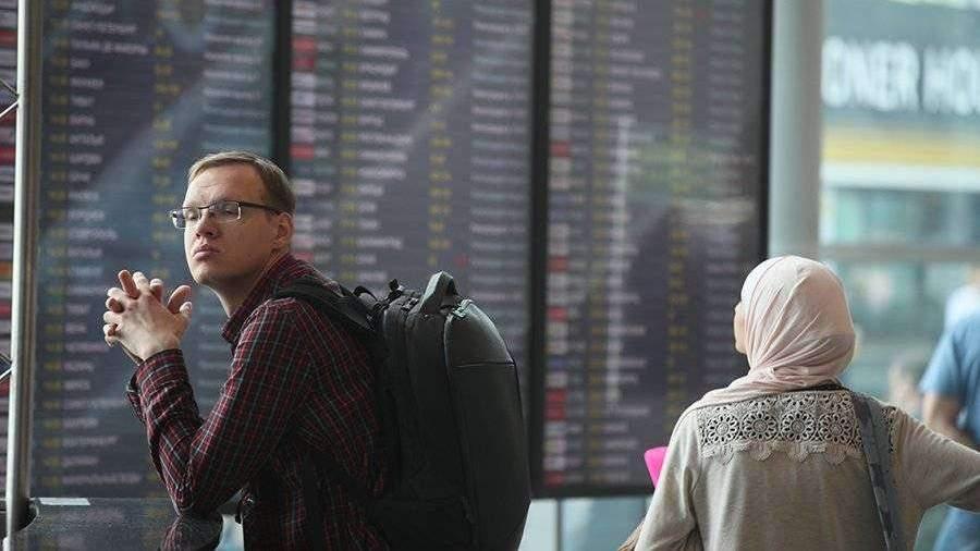 Более 20 авиарейсов задержали и отменили в аэропортах Москвы