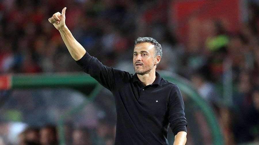 Луис Энрике снова возглавил сборную Испании по футболу