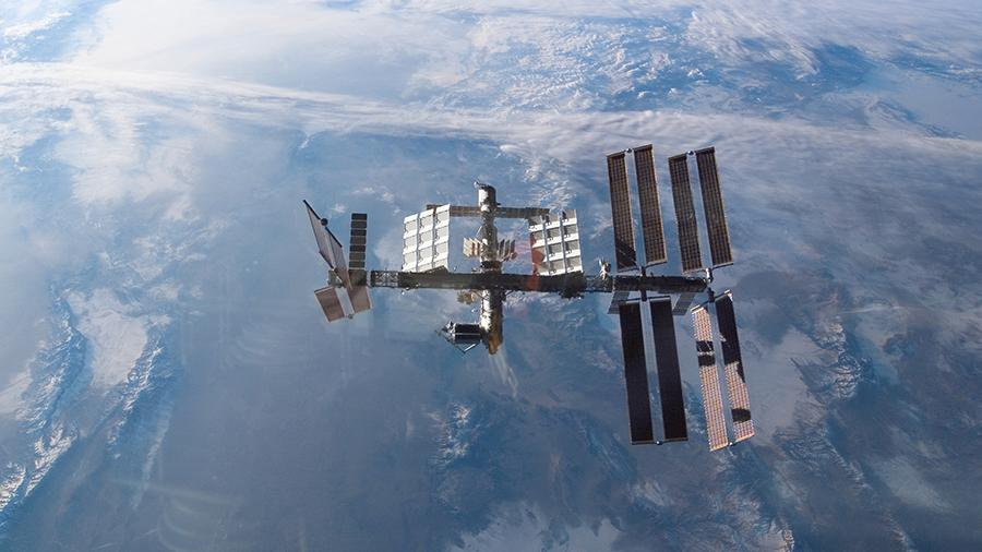 Астронавты починили туалет в американском модуле МКС