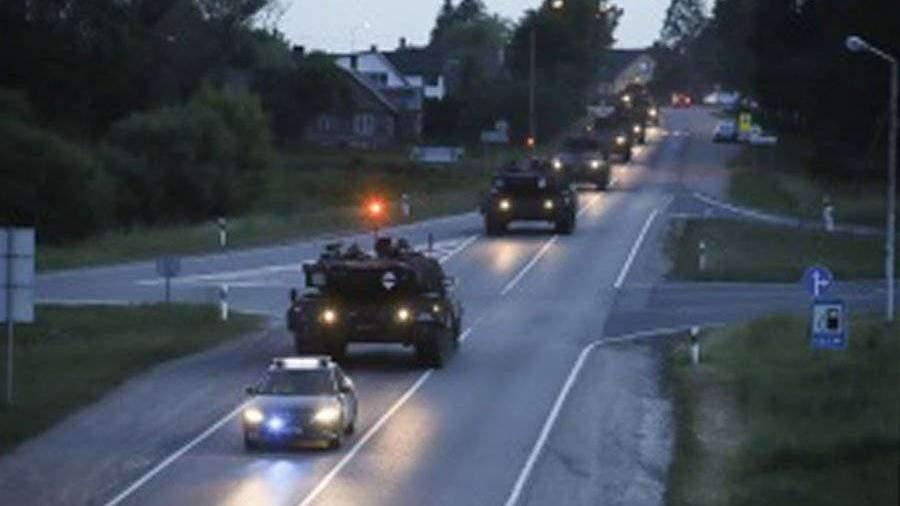 НАТО начало масштабные учения на границе с Россией