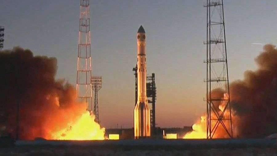 Ракета «Протон-М» стартовала с Байконура