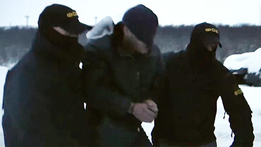Опубликовано видео задержания готовившего теракт сторонника «Правого сектора»