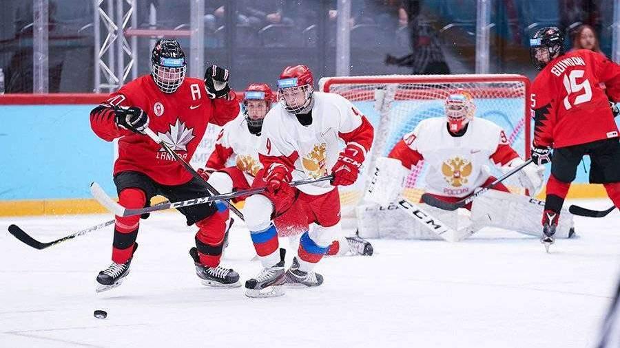 Сборная России по хоккею обыграла Канаду на юношеских Олимпийских играх