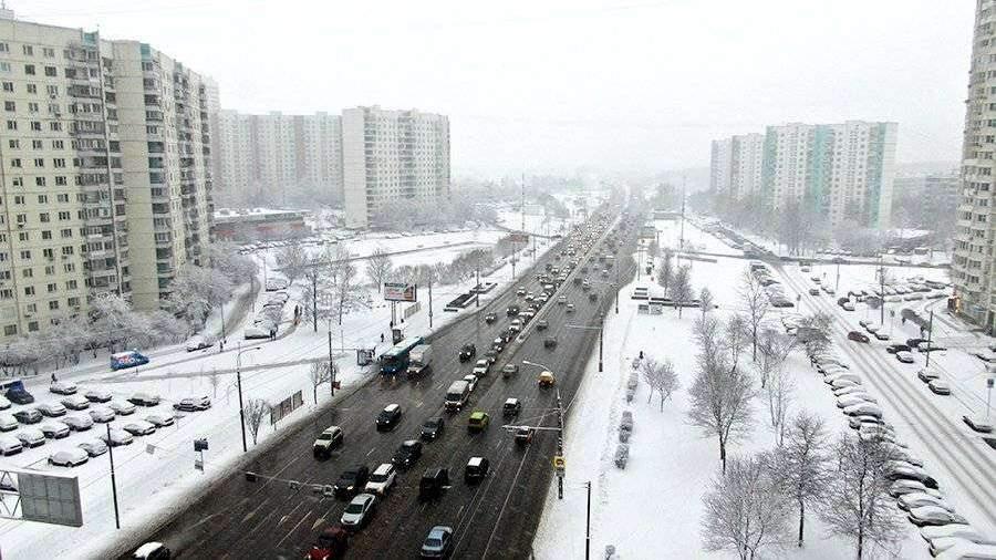 Синоптик рассказал о рекордном снежном покрове в Москве