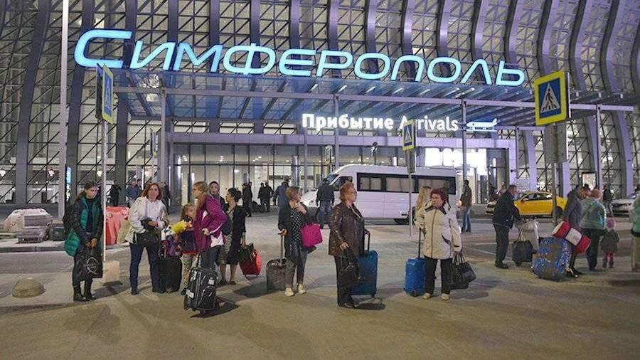 Пассажиропоток аэропорта Симферополя не изменился после запуска поездов в Крым