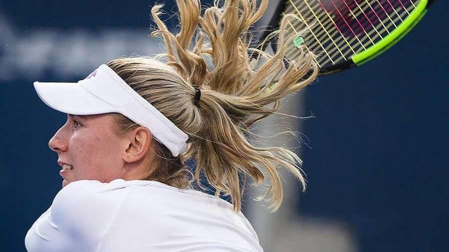 Александрова вышла во второй круг Открытого чемпионата Австралии по теннису