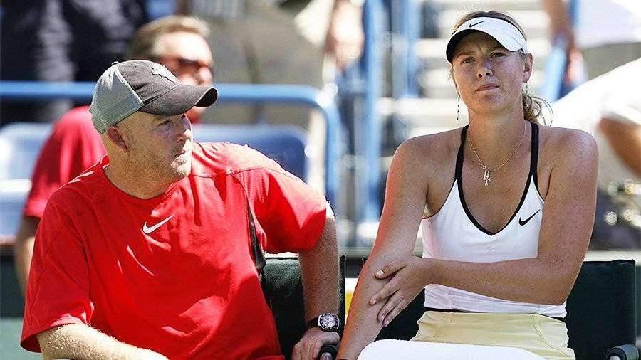 Бывший тренер Шараповой назвал ее великой спортсменкой