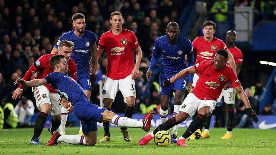 «Манчестер Юнайтед» обыграл «Челси» в рамках матча АПЛ