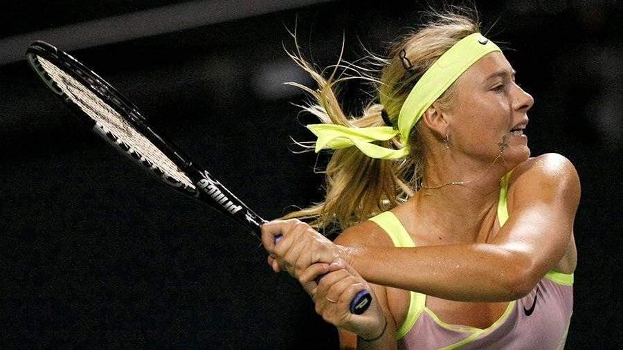 Шарапову признали самой высокооплачиваемой российской спортсменкой 2010-х