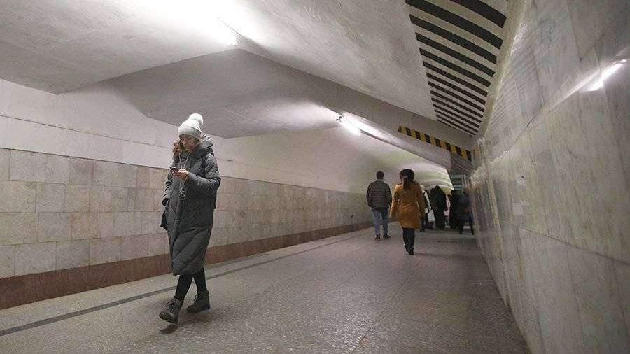 Движение на серой ветке метро восстановлено после падения пассажира