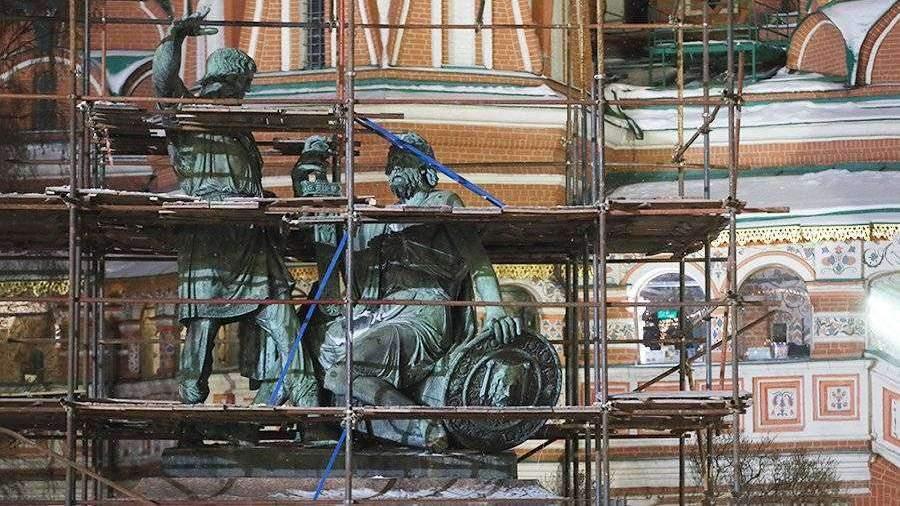 Названы сроки старта реконструкции памятника Минину и Пожарскому