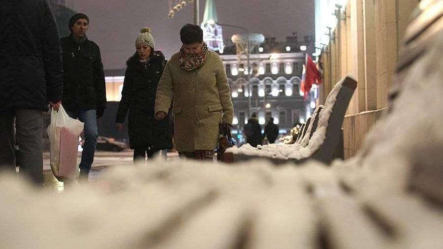 Москвичам пообещали похолодание и снег