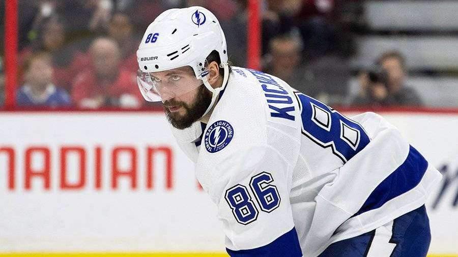 Кучеров получил травму в матче НХЛ с «Питтсбургом»