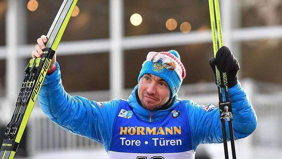 Россиянин Логинов выиграл в спринте на чемпионате мира по биатлону