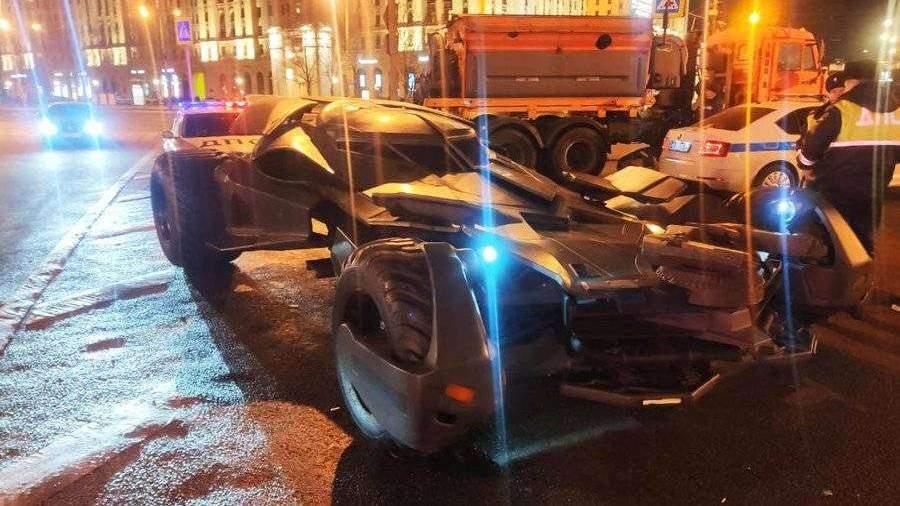Полиция изъяла у москвича сделанный в мастерской «бэтмобиль»