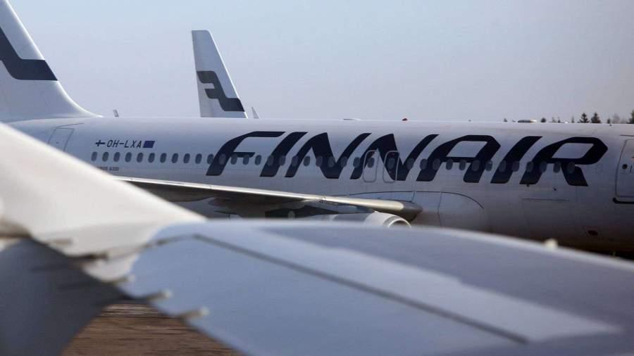 Finnair отменила рейсы в Россию и ряд других стран