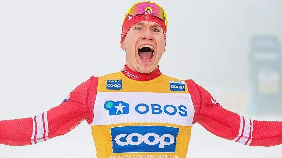 Большунов победил в лыжном марафоне в Норвегии