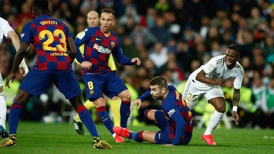 «Реал» остановил «Барселону» и вернул лидерство в чемпионате Испании
