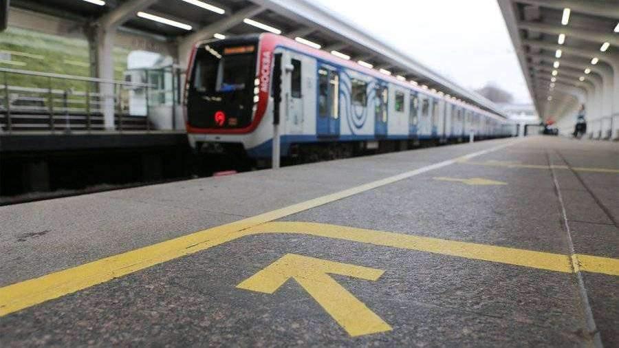 Движение на голубой ветке московского метро восстановлено
