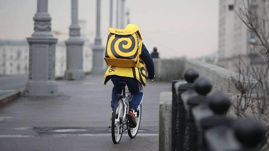 «Яндекс» разрешил курьерам не доставлять еду в больницы из-за коронавируса