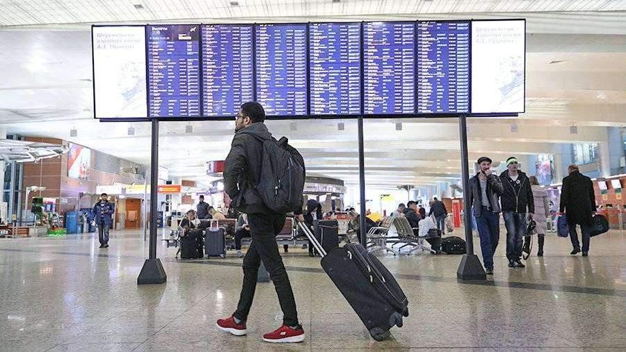 Почти 30 рейсов отменено и задержано в московских аэропортах