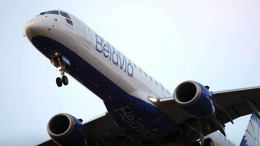 «Белавиа» ограничит полеты в Санкт-Петербург и Калининград