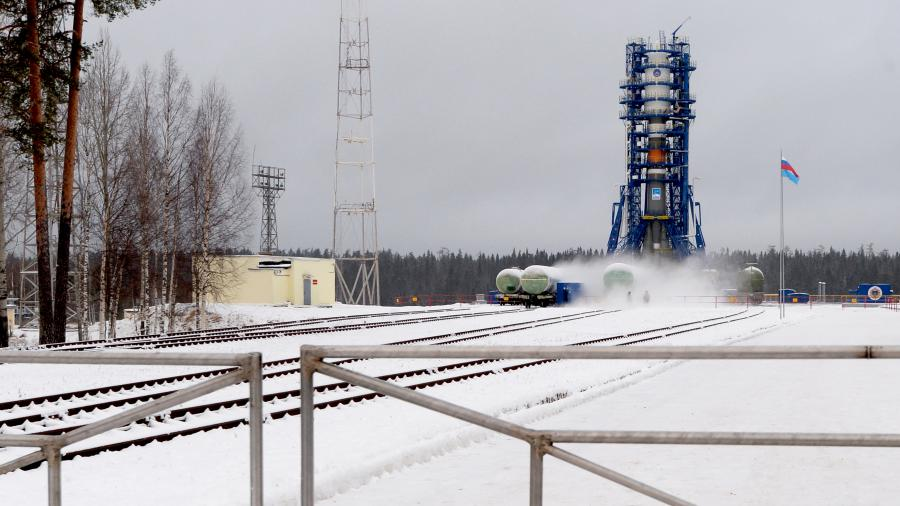 С космодрома Плесецк запущена ракета «Союз-2.1б»