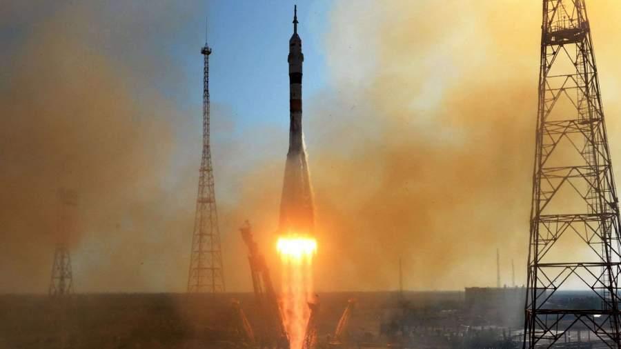 Ракета «Союз» с 34 спутниками стартовала с Байконура