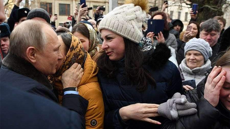 Раскрыто содержание записки от сделавшей предложение Путину девушки