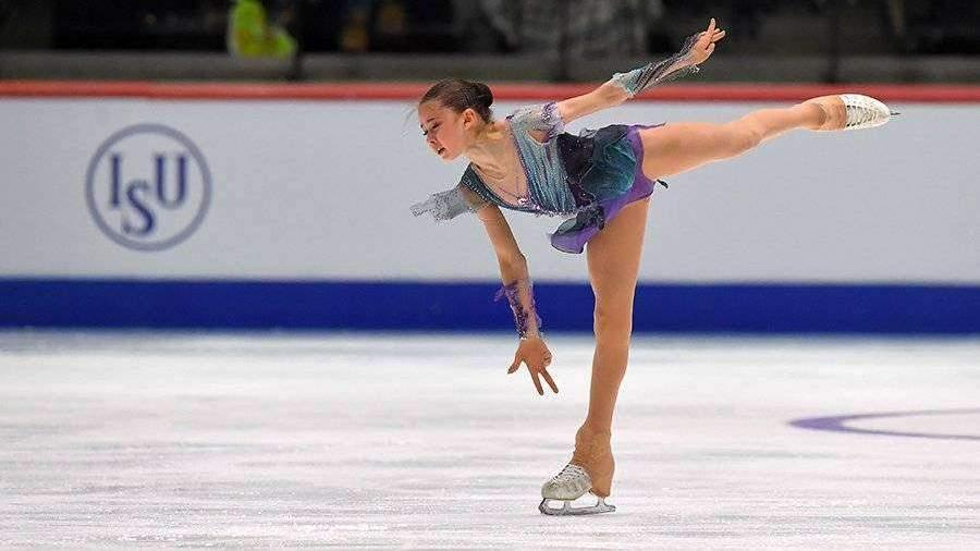Фигуристка Валиева взяла золото на чемпионате мира среди юниоров