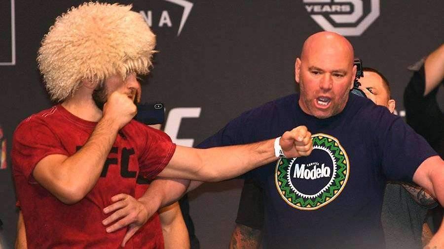 Глава UFC объяснил желание провести бой Хабиба и Фергюсона в условиях пандемии