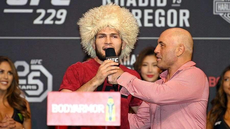 Джо Роган отказался комментировать бой Нурмагомедова и Фергюсона
