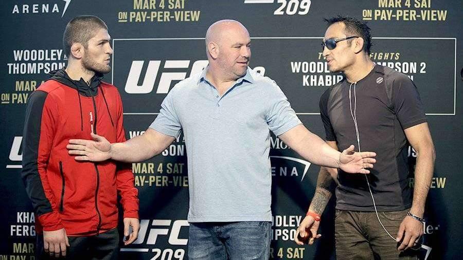 В UFC допустили бой Нурмагомедова и Фергюсона без зрителей
