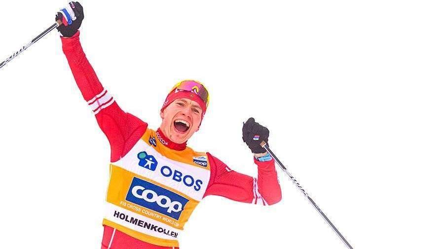 Большунов стал первым выигравшим общий зачет Кубка мира российским лыжником