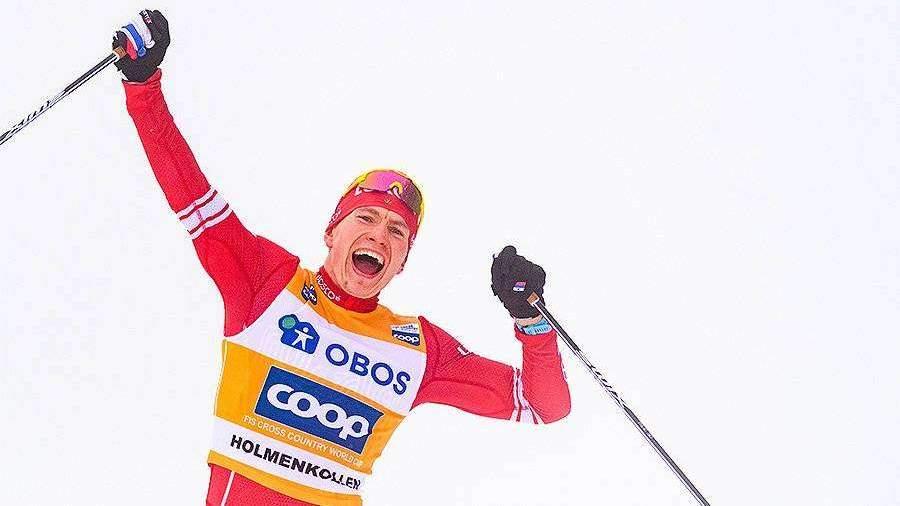 В Ассоциации лыжных видов спорта оценили победу Большунова в Кубке мира