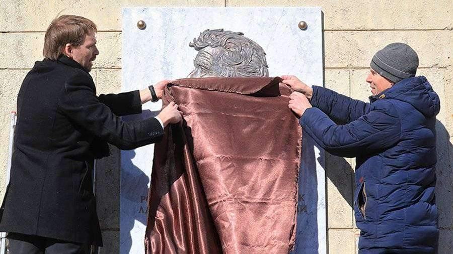 В Санкт-Петербурге открыли мемориальную доску академику Алферову