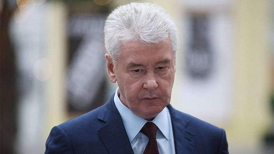 Собянин попросил москвичей остаться на нерабочей неделе дома