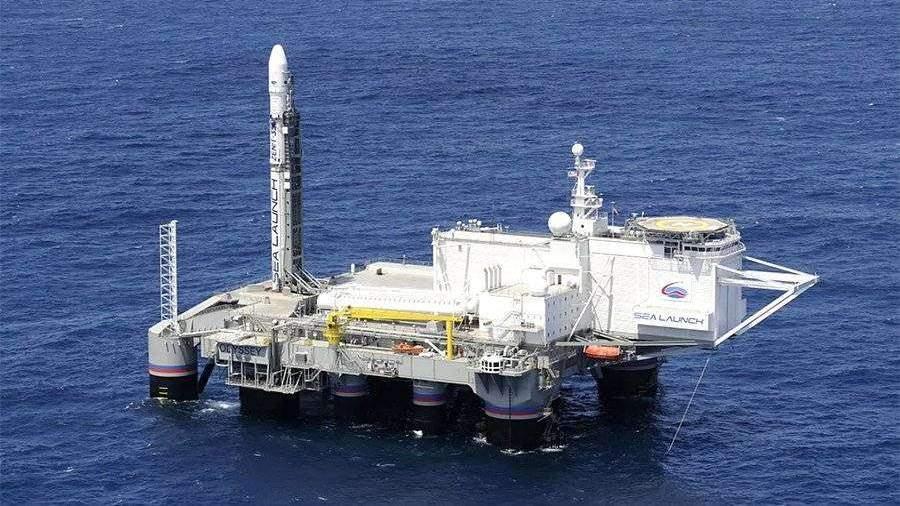 Судно с космодромом «Морской старт» прибыло в Россию из США