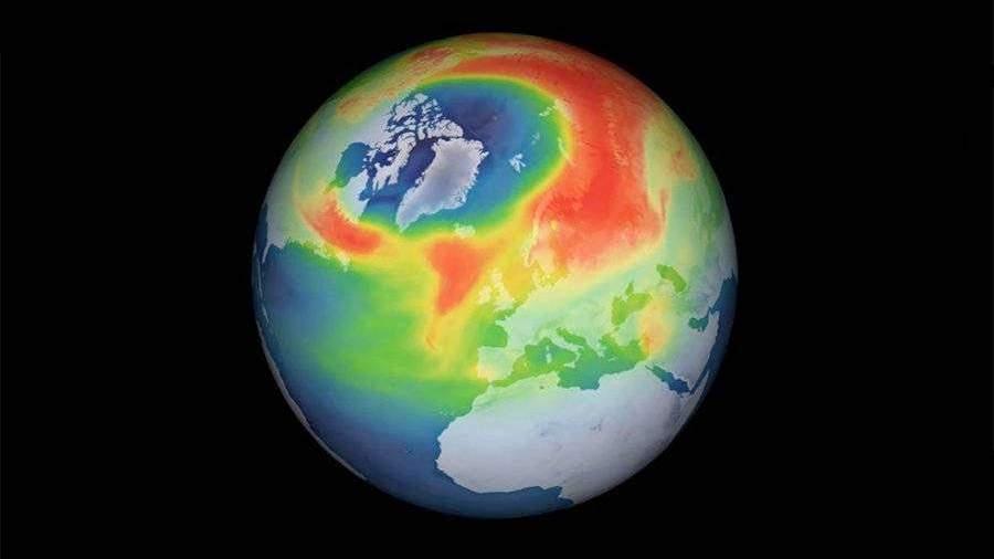 Ученые заявили о закрытии озоновой дыры над Арктикой к середине апреля