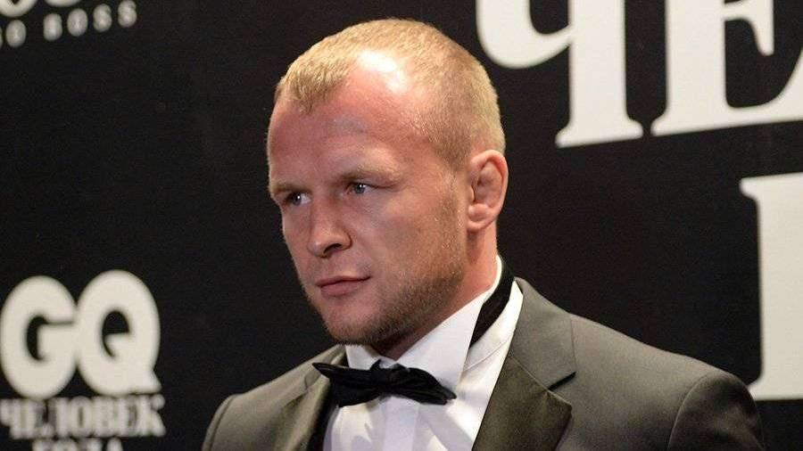 У российского бойца MMA Александра Шлеменко родился сын