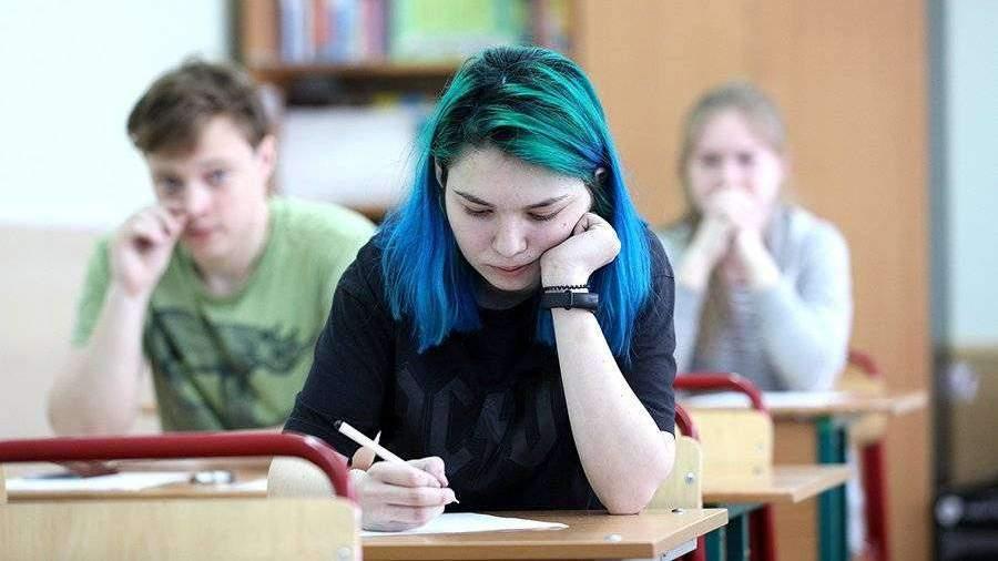 Четверть российских школьников выступили за отмену экзаменов